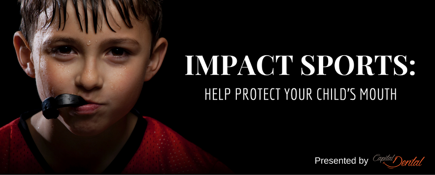 The importance of mouth guards for children playing impact sports